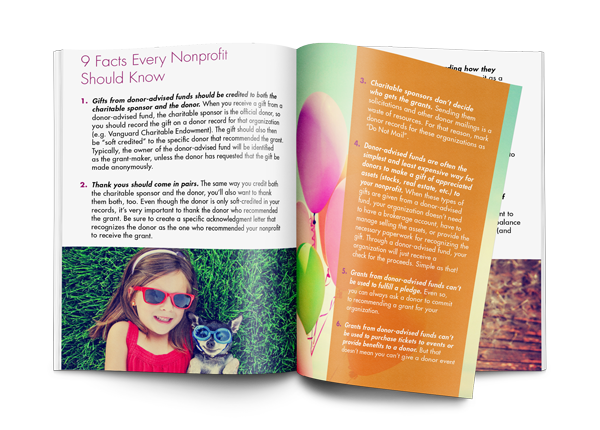 9 Facts Every Nonprofit Should Know About Donor-Advised Funds E-Book