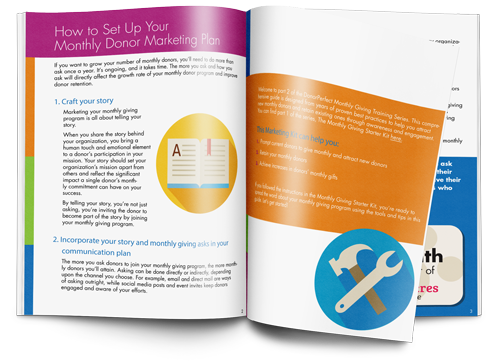 Monthly Giving Marketing Kit E-Book