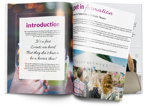 How To Plan a Nonprofit Fundraising Event Ebook