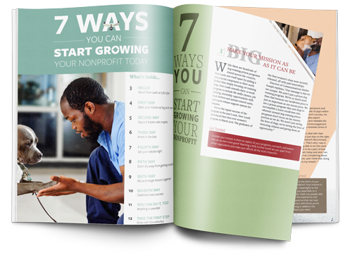 7 Ways to Start Growing Your Nonprofit Today