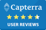 Capterra review of DonorPerfect
