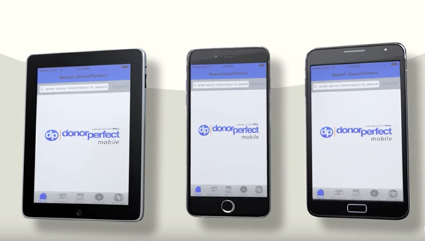 Watch the Overview of DPMobile, the best Fundraising App from DonorPerfect