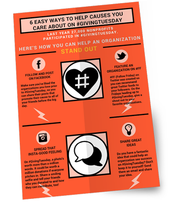 6 Easy Ways to Help Causes You Care About on #GIVINGTUESDAY