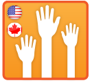 Online Fundraising Page Example for Volunteer Membership Management & Registration - United States & Canada