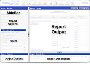Filter criteria, view the report, and refresh the report with different criteria without ever leaving the report screen!