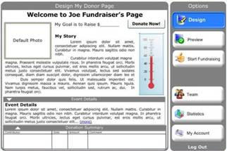 Social Fundraising Donation Websites
