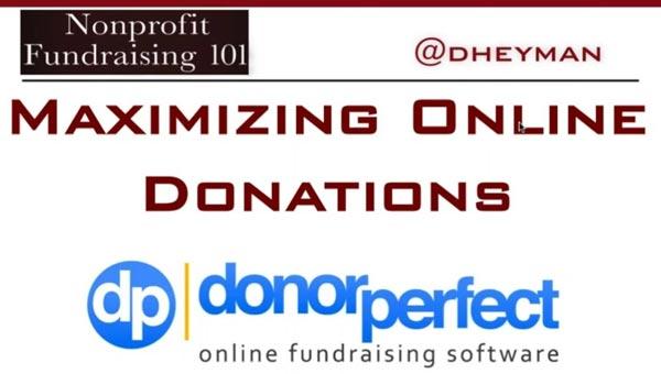 Maximize Online Donations