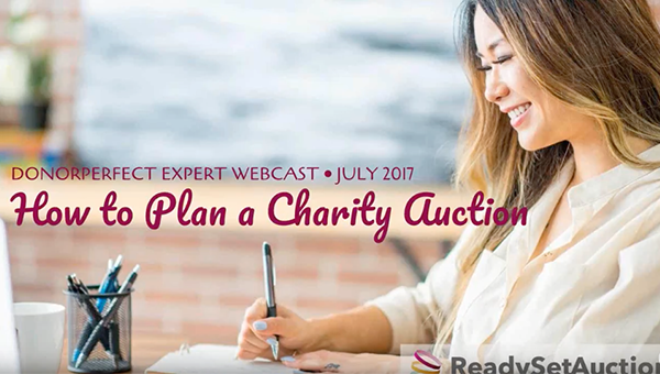 ReadySetAuction How To Plan A Charity Auction
