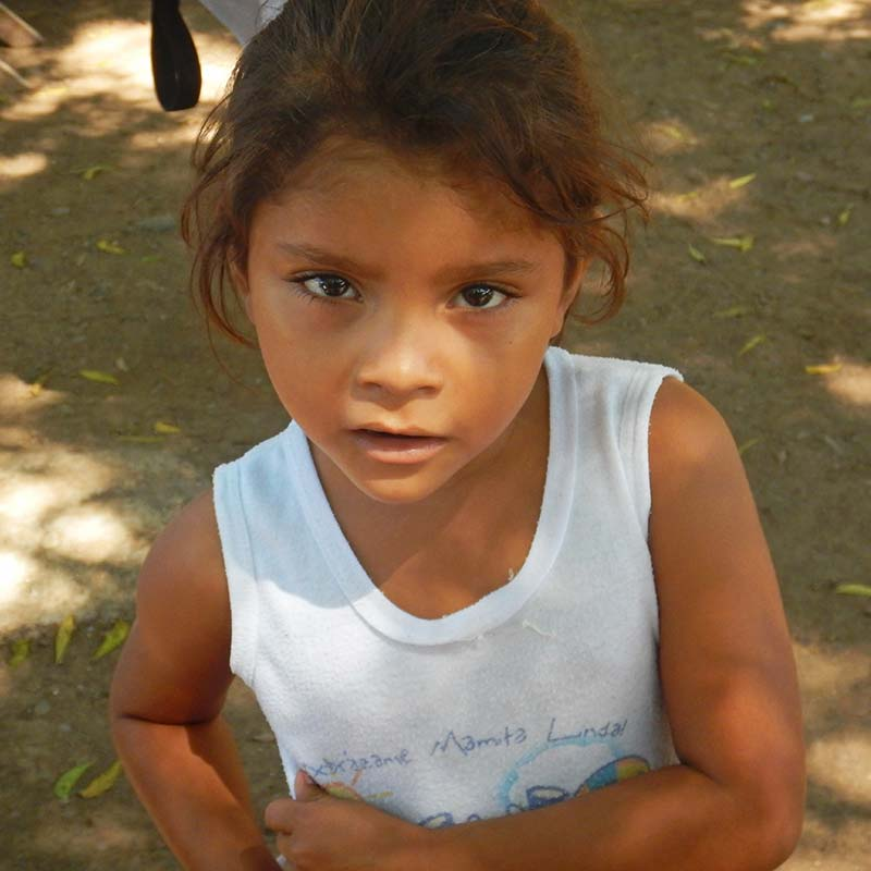 Child in the LHI Sponsorship Program