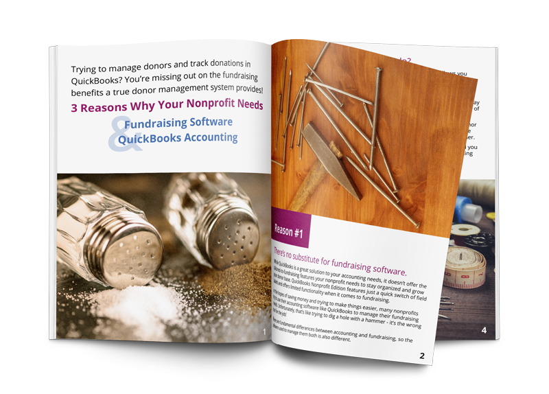 QuickBooks Fundraising Software Ebook Graphic