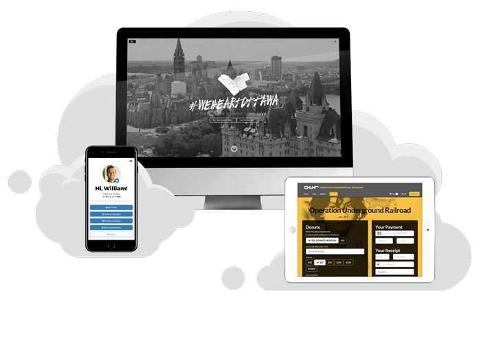 GiveCloud Responsive Websites