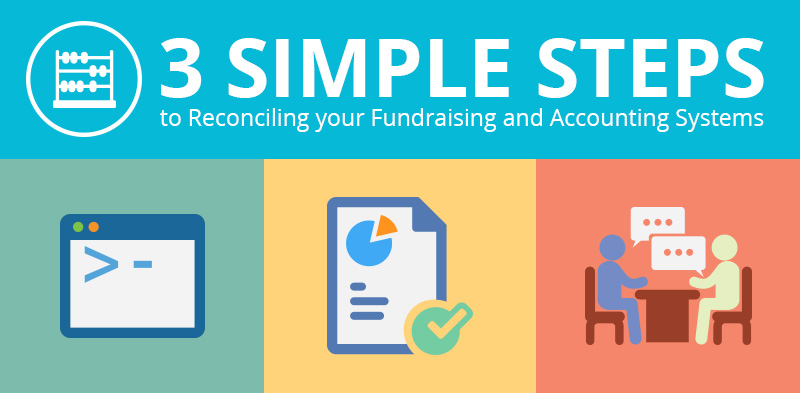 Reconcile Your Fundraising and Accounting Systems in 3 Steps