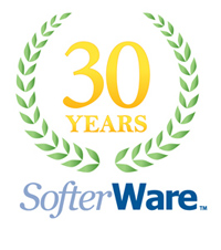 30 Years of Softerware Logo