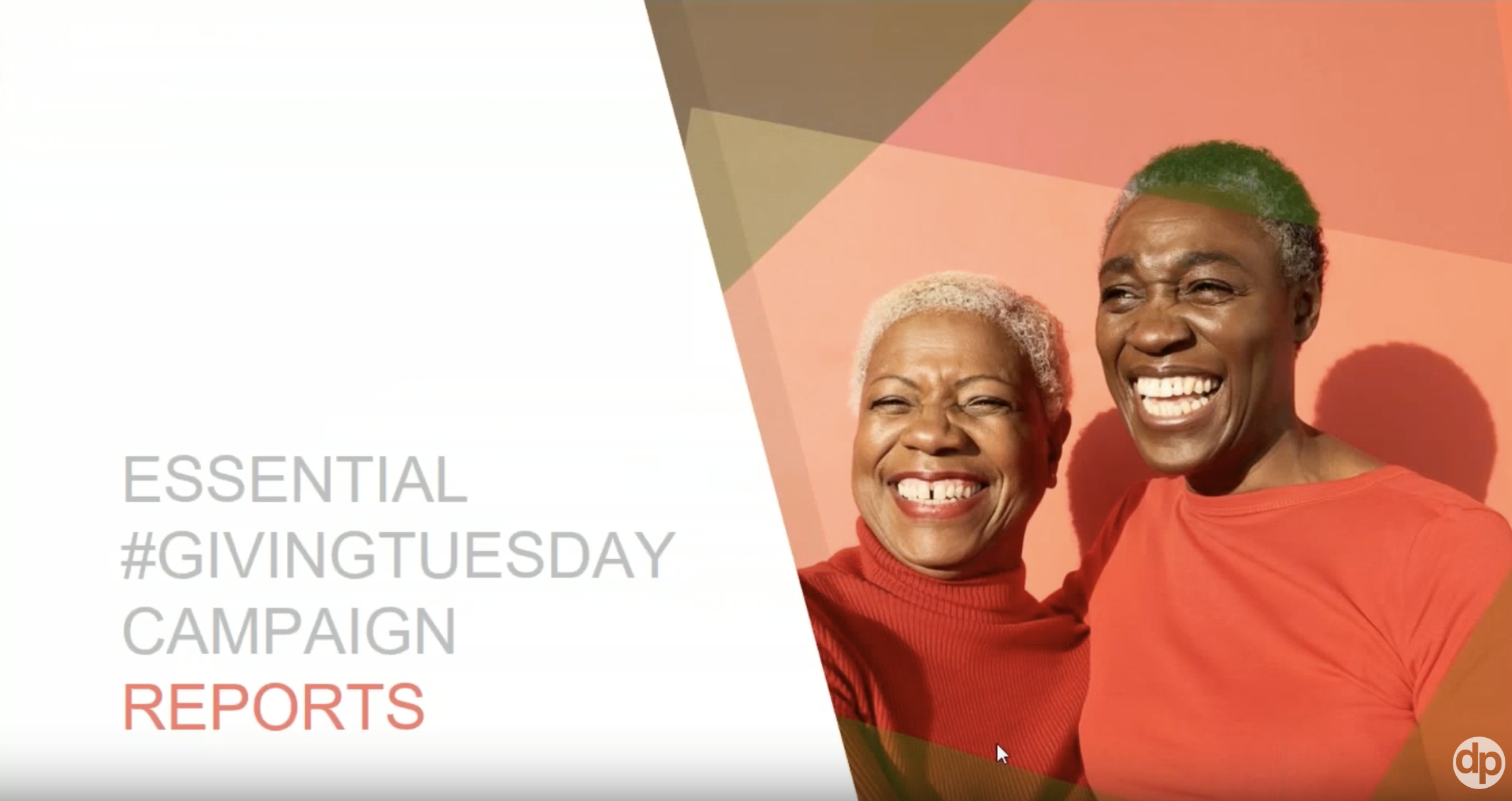 GivingTuesday Fundraising Campaign Reports Webinar