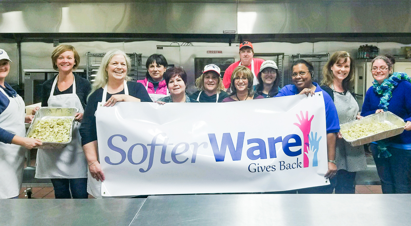 SofterWare Gives Back