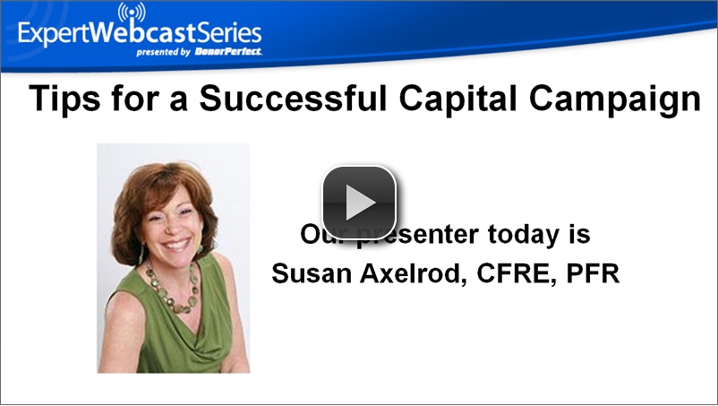 Tips for a Successful Capital Campaign