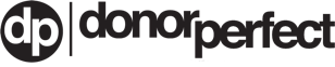 DonorPerfect Black Logo