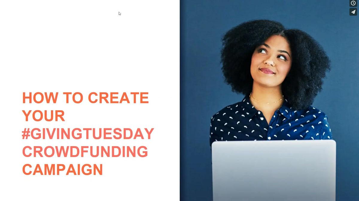 Giving Tuesday Webinar
