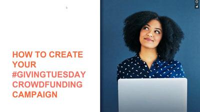 Giving Tuesday Crowdfunding Webinar