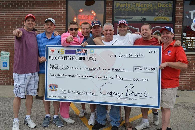 $42,296.88 raised for charity from just 83 golfers.