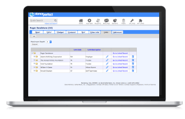 DonorPerfect Fundraising Software Donor Management Screenshot