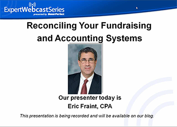 Reconciling Your Fundraising and Accounting Systems