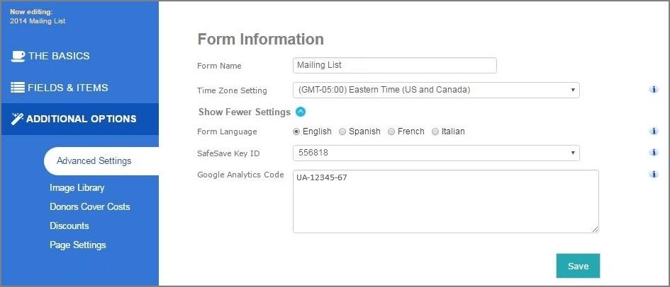 Track Giving Tuesday donation form metrics using Google Analytics