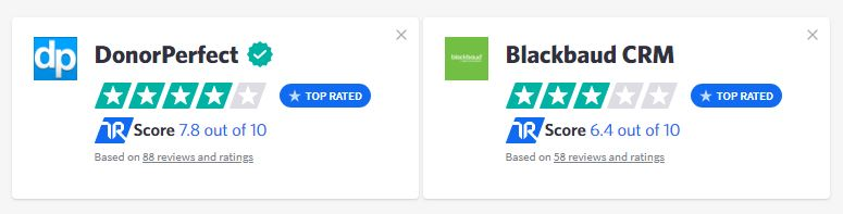 Compare Blackbaud and DonorPerfect