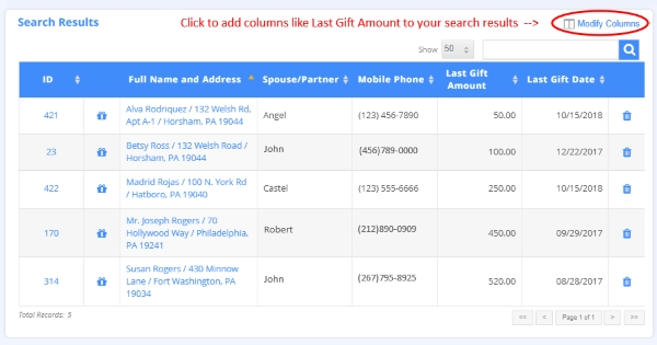 Personalize Your Search Results
