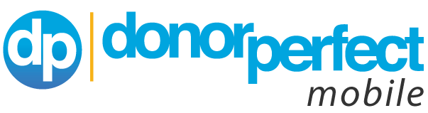 DonorPerfect Mobile Fundraising App Logo