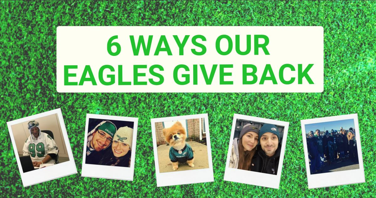 Philadelphia Eagles Charitable Giving Header