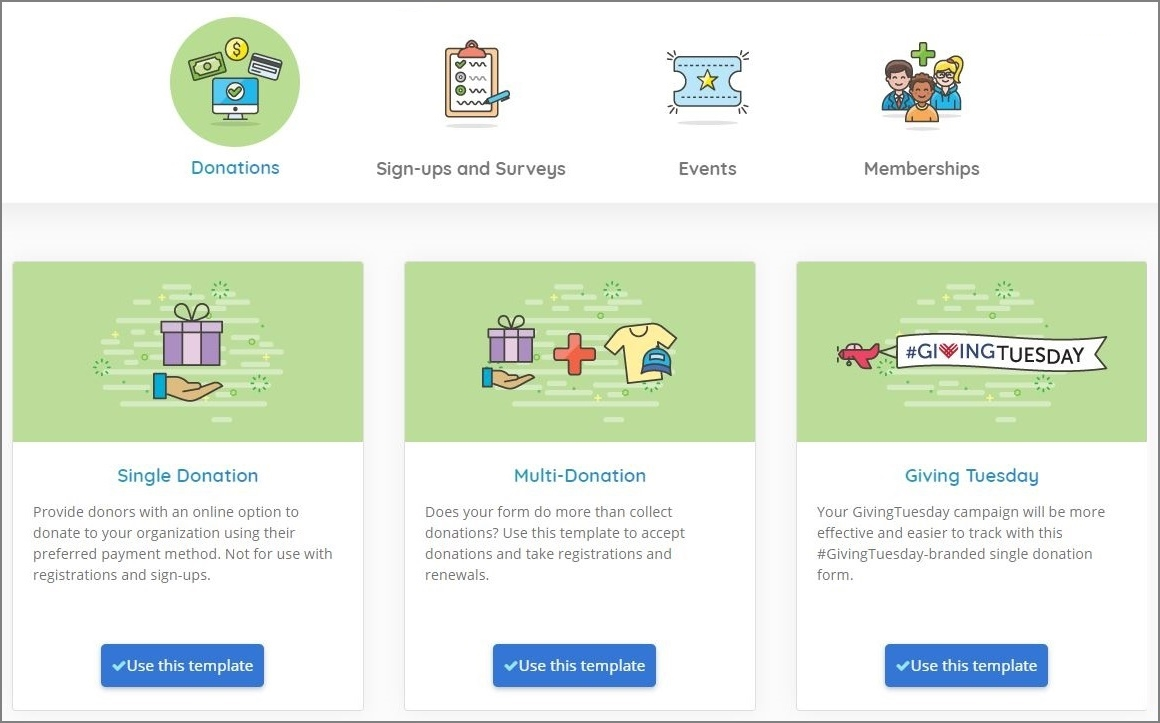 DP Online Form's new Template Library streamlines the process to create online forms.