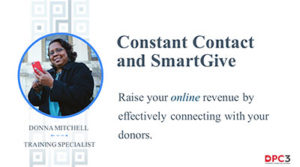 Constant Contact and SmartGive