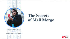 The Secrets of Mail Merge