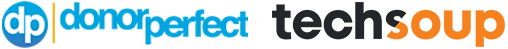 DonorPerfect TechSoup Partnership Logo